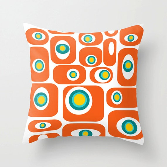 Mid Century Modern Pillows Etsy : Modern Throw Pillow Modern Pillow Geometric Pillow Mid
