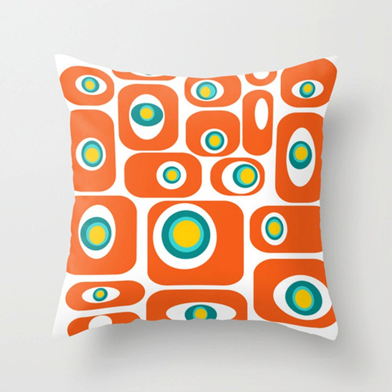 Modern Throw Pillow Modern Pillow Geometric Pillow Mid