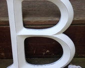 RSERVED Wall Decor, Large Letter, Shabby Chic Wall Decor - Pick your CoLOr and PIcK YOuR LeTTeR