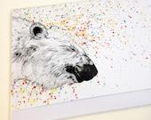 Polar Bear // Greeting Card