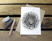 Wood // Greeting Card