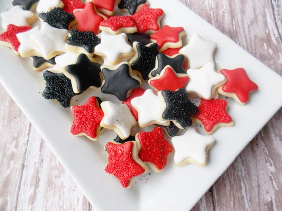 Mini Star sugar cookies