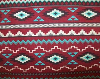 Aztec Print Fabric Etsy
