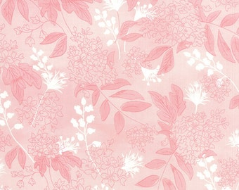 Fresh Cut - Bluebell Boutique in Pink Flambe by Basic Grey for Moda Fabrics
