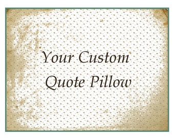 custom throw pillow personalized cotton anniversary gift gift for him gift for her your quote pillow handmade pillow gift customized gifts
