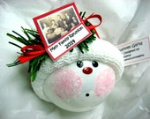 Genealogy Ornament Christmas Townsend Custom Gifts Personalized Photo Tag Sample