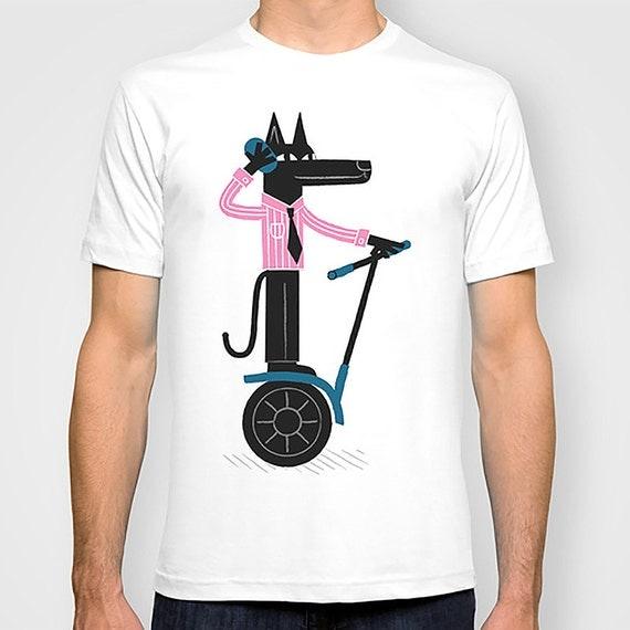 SEGWOLF - Mens / Womens T-shirt / Tee - iOTA iLLUSTRATiON