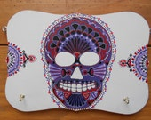Deep Purple Sugar Skull K...