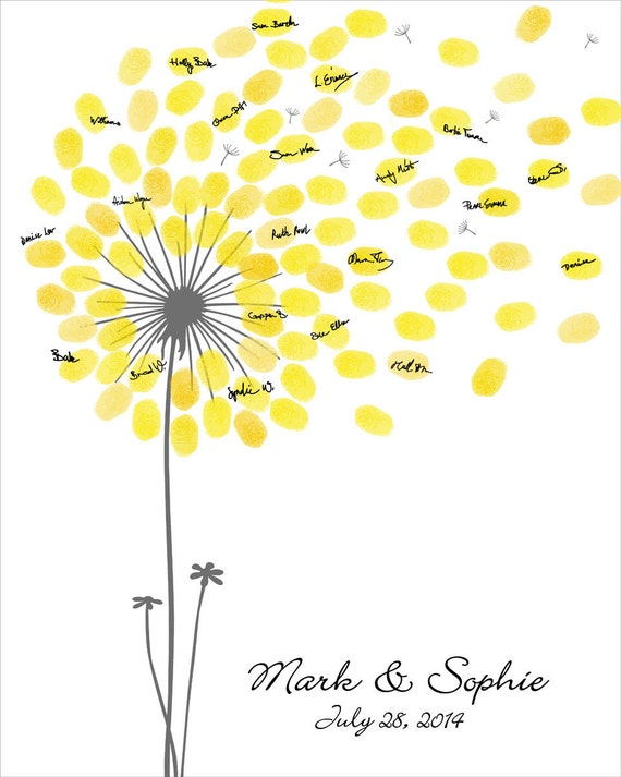 birthday guest book template