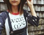 wear Love Stars Baseball Tee