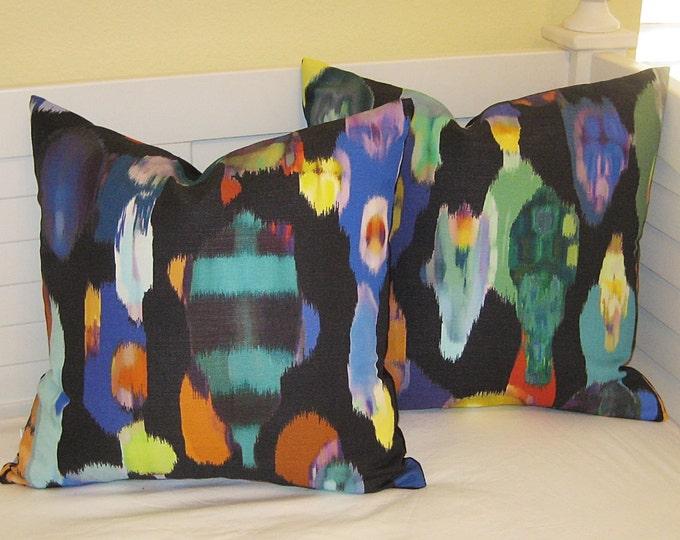 Robert Allen Tropic Storm Designer Pillow Cover - Square, Euro, Body Pillow and Lumbar Sizes