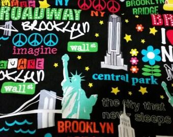 New York fabric fat quarter