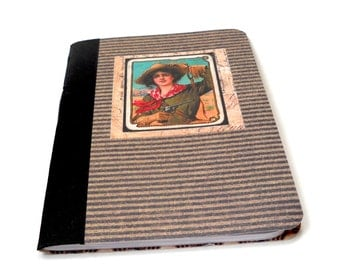 Western Notebook, Cowgirl Softcover Notebook, Country Notebook, Cowboy
