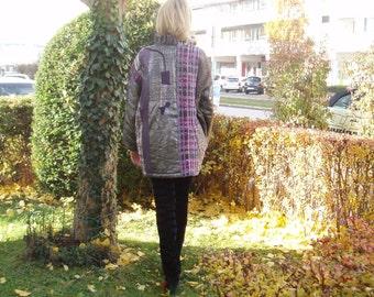 WINTER jacket of exclusive - Gr.L - Lavender