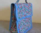 Insulated Lunch Bag - Pretty Posies