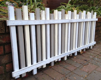 Headboard Beach Fence FULL DOUBLE Size Beach House Coastal Furniture Decor by CastawaysHall