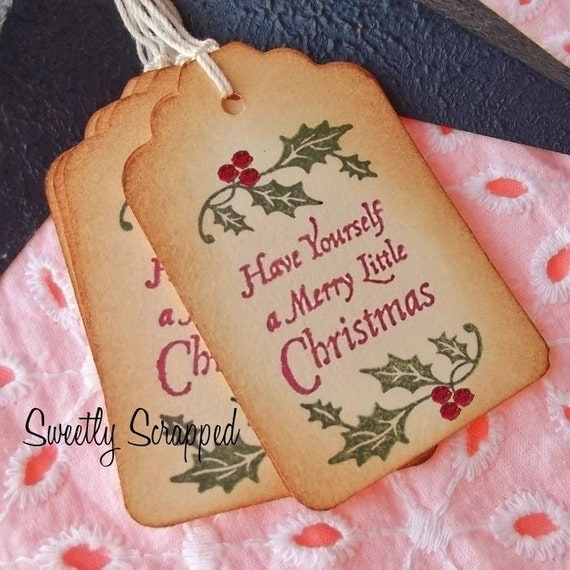 Have Yourself A Merry Little Christmas Special Gift Tags 6