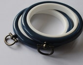 2 Mini Flexi Hoops Dark Blue  - 2.5 inch
