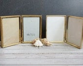 2 Folding Picture Frames