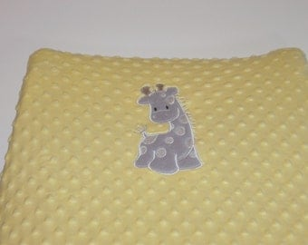 Diaper Changing Pad Cover, Changing Pad Cover, Giraffe, Zoo, Safari, Baby Gift, Color Choice, Diaper Pad Cover, Custom, Can Be Personalized