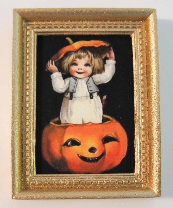 Dollhouse Miniature 12th Scale Halloween Ghost Bat
