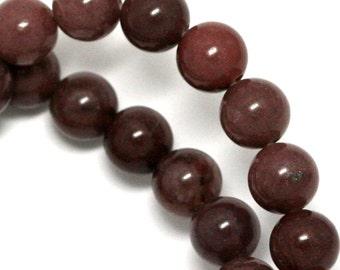 Purple Aventurine Beads - 8mm Round - Full Strand