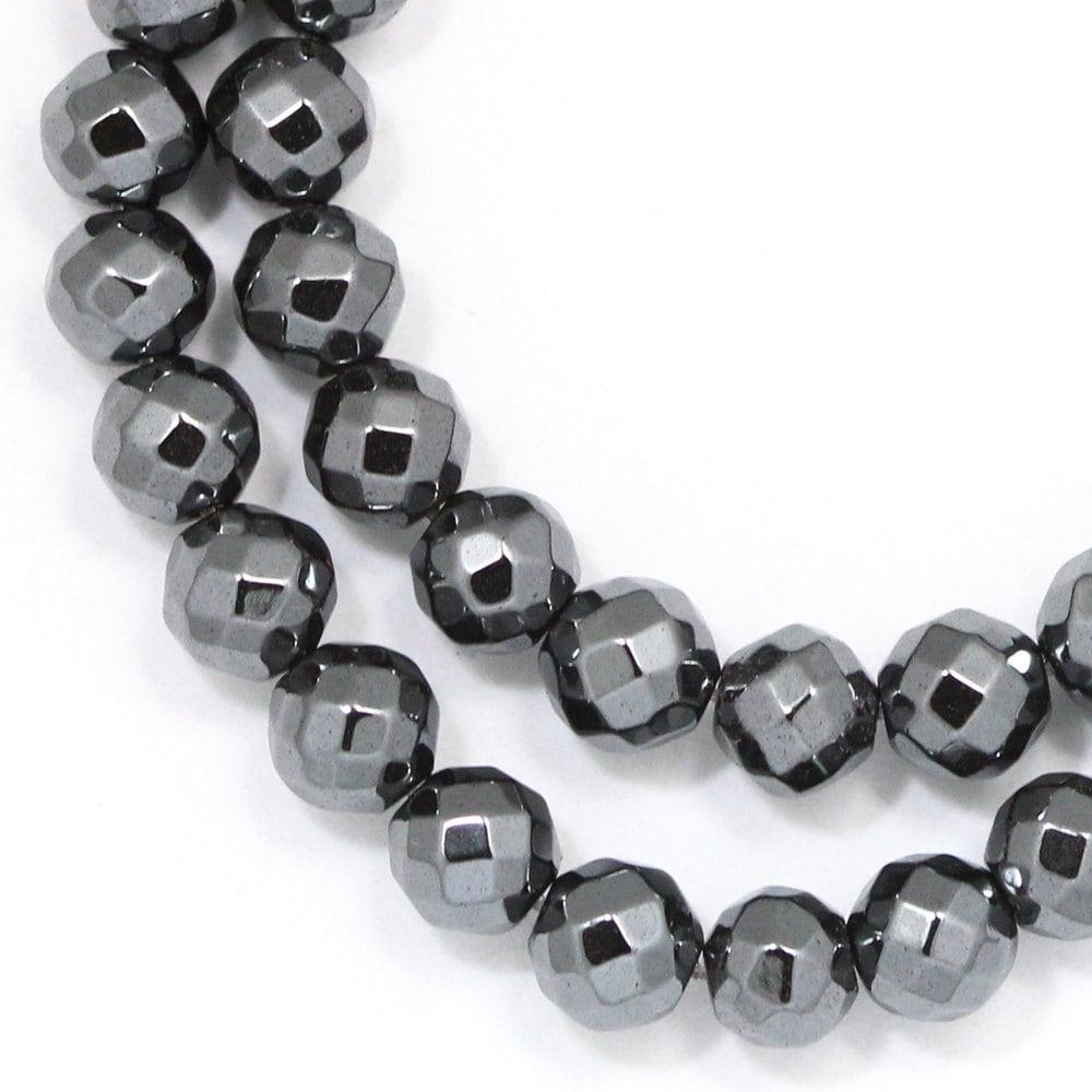 NiceBeads 6MM Natural Stone Hematite Beads Round Loose ...  |Hematite Beads