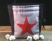 Winter Soldier inspired Dice Bag