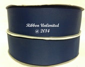 10 Yards WHOLESALE Solid Navy grosgrain ribbon LOW SHIPPING Cost