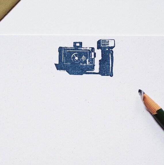 Retro Camera stationary set photography hemp letter writing paper polaroid
