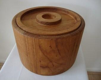 Vintage Dansk Denmakr IHQ Teak Ice Bucket