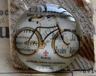 10mm,12mm,14mm,16mm,18mm,20mm,25mm,30mm Round Bicycle Photo Glass Cabochons,finding beads,Photo Glass Cabochons Bike