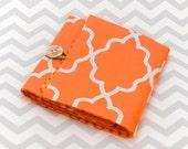 Interchangeable Knitting Needle Roll - Orange