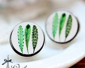 20% off -NEW Unique 3D Embossed  16mm Round Handmade Wood Cut Cabochon to make Rings, Earrings, Bobby pin,Necklaces, Bracelets-(WG-152)
