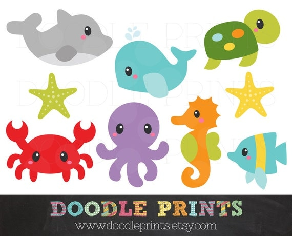 Accomplished image for printable sea animals