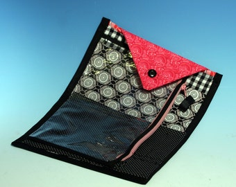 Knitting Crocheting Needle and Accessory Case