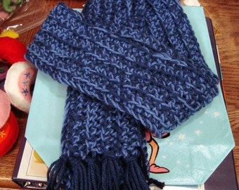 Hand-Crocheted Scarf In Your Team's Colors -- Show Your Spirit!