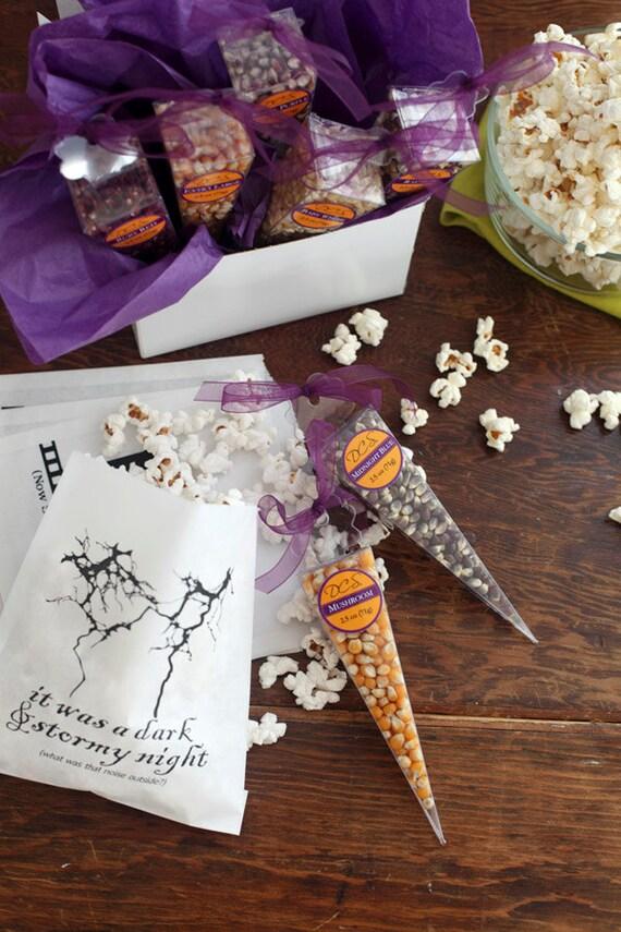 Popcorn sampler – gourmet popcorn popping corn – popcorn sample packs for husband gift, boyfriend gift, gift for men, diy gift food gifts