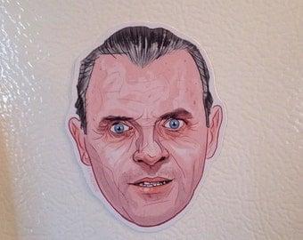 Hannibal Lecter Fridge Magnet