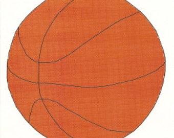 Basketball Cross Stitch Pattern