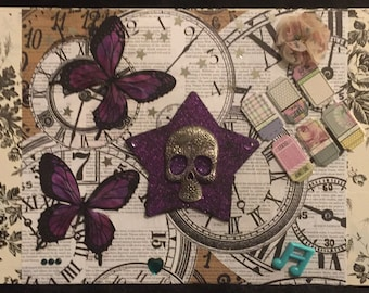 Mixed Media Original Art Collage #1