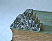 Letterpress Type Copperplate 18pt. for Printing Stamping and Decor
