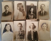 Vintage Photo Lot 1910s School Children - 55 photos