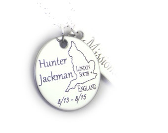 Missionary Personalized  Add a Pendant