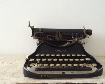 Vintage Corona Folding Typewriter