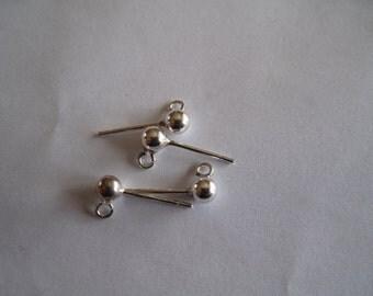 4 Pierced Earring Posts