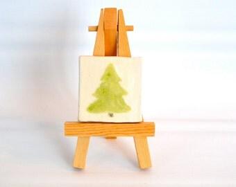 Christmas Tree - 2 x 2 Ceramic Tile