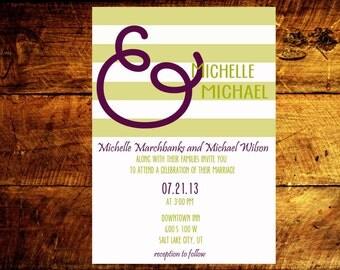 wedding invites, unique wedding invitations, printable wedding invitations, custom wedding invitations, wedding announcement
