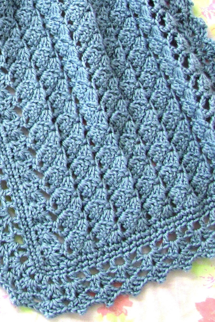 Prayer Shawl For Dori Easy Crochet Pattern