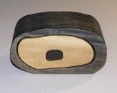 Two Tone Wood Trinket Box